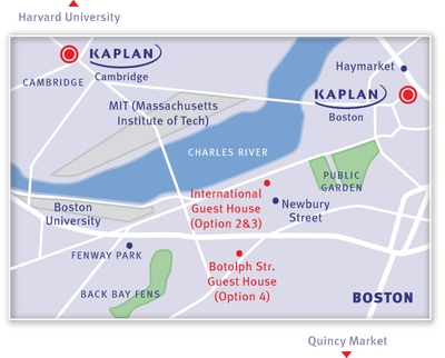 KAPLAN Boston Map