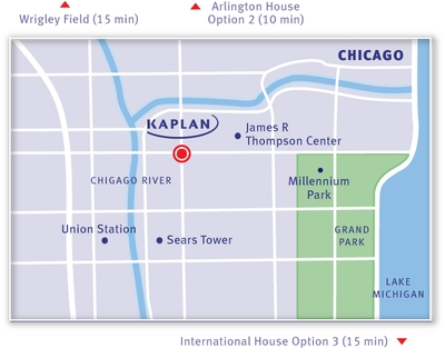 KAPLAN Chicago Map