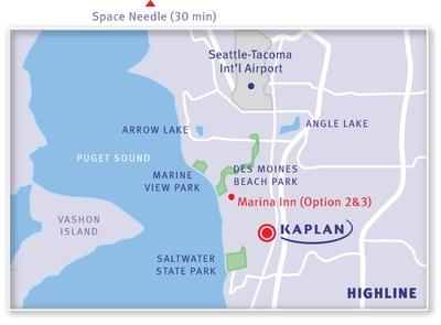 KAPLAN Highline Map