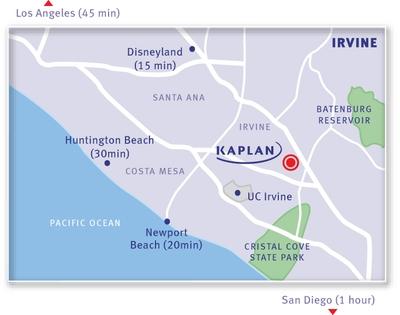 KAPLAN Irvine Map