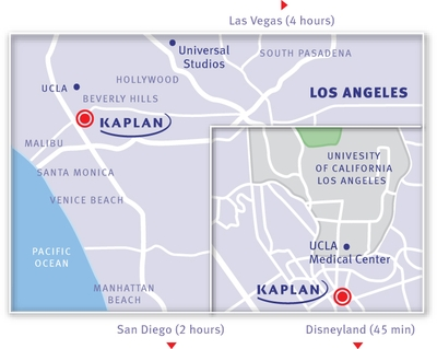 KAPLAN Los Angeles Map