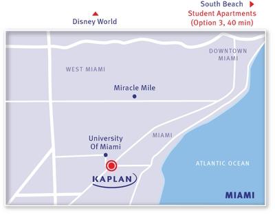 KAPLAN Miami Map