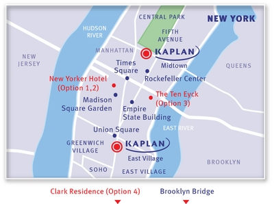 KAPLAN New York Map