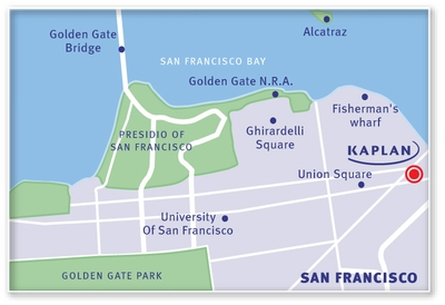 KAPLAN San Francisco Map