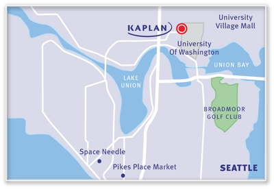 KAPLAN Seattle Map