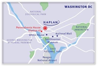 KAPLAN WashingtonDC Map